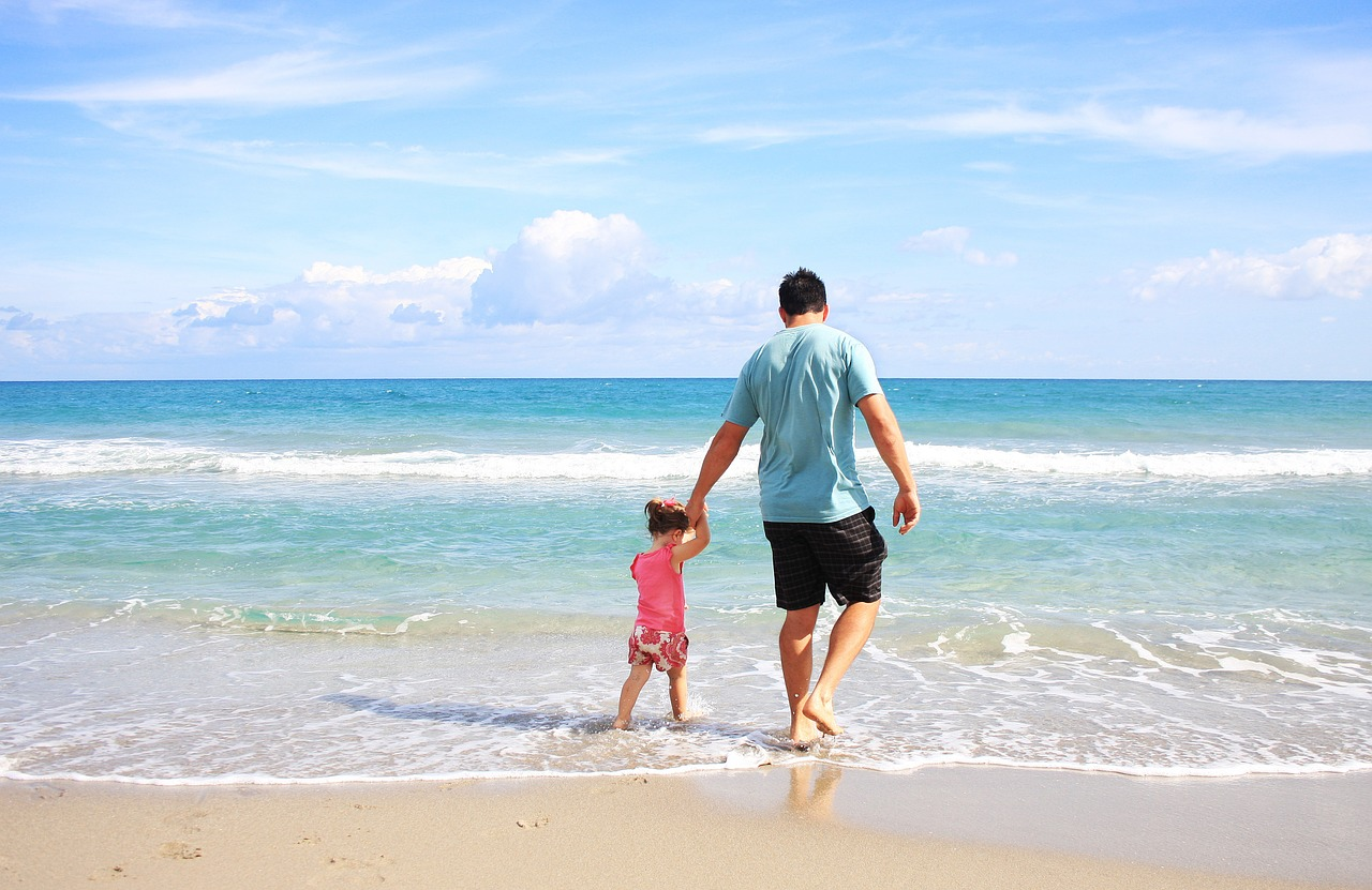 In vacanza al mare con tutta la famiglia
