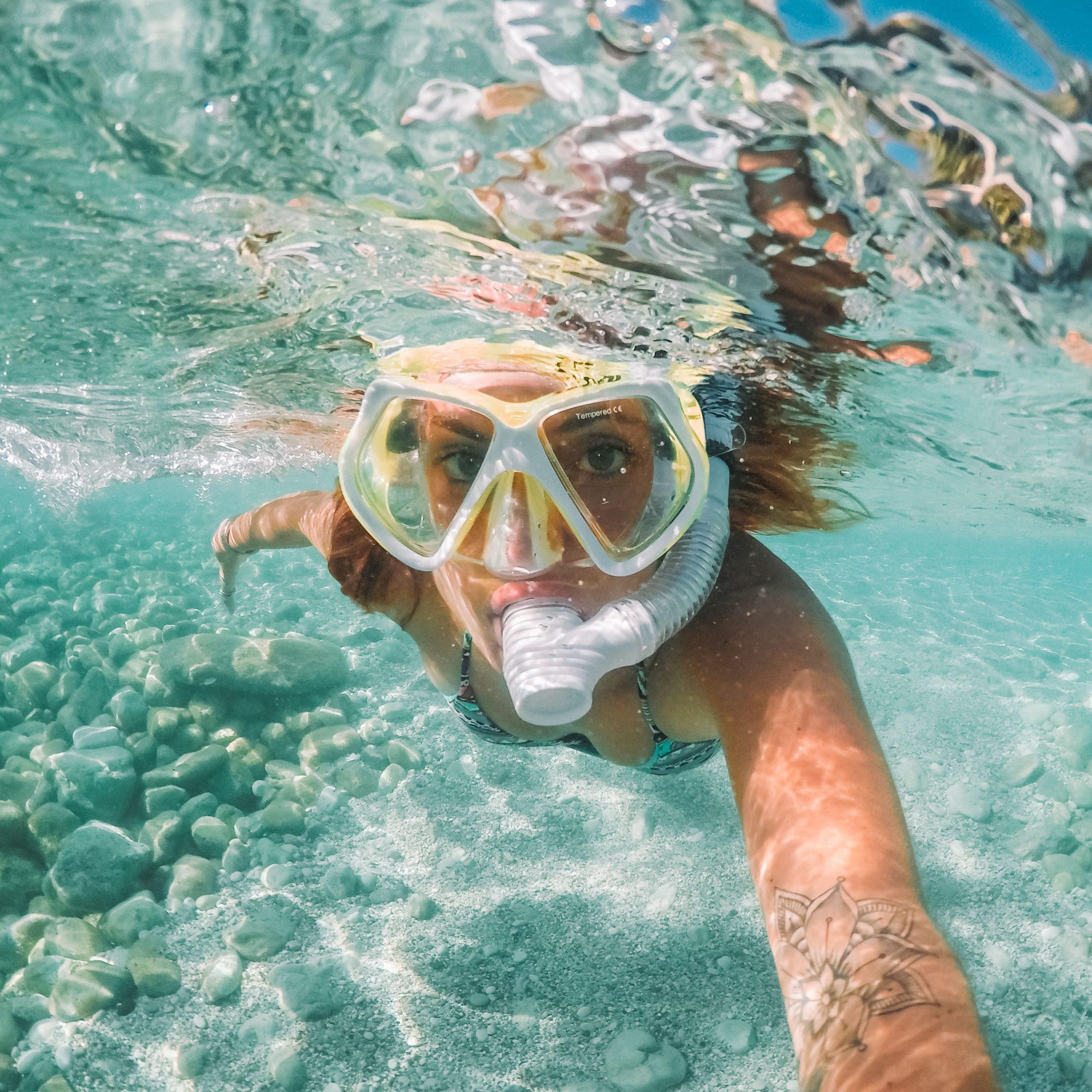 alissa gopro subacquea