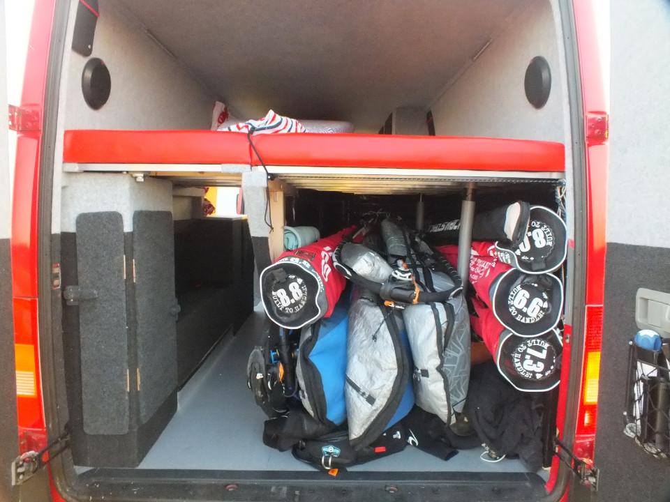 windsur camper van