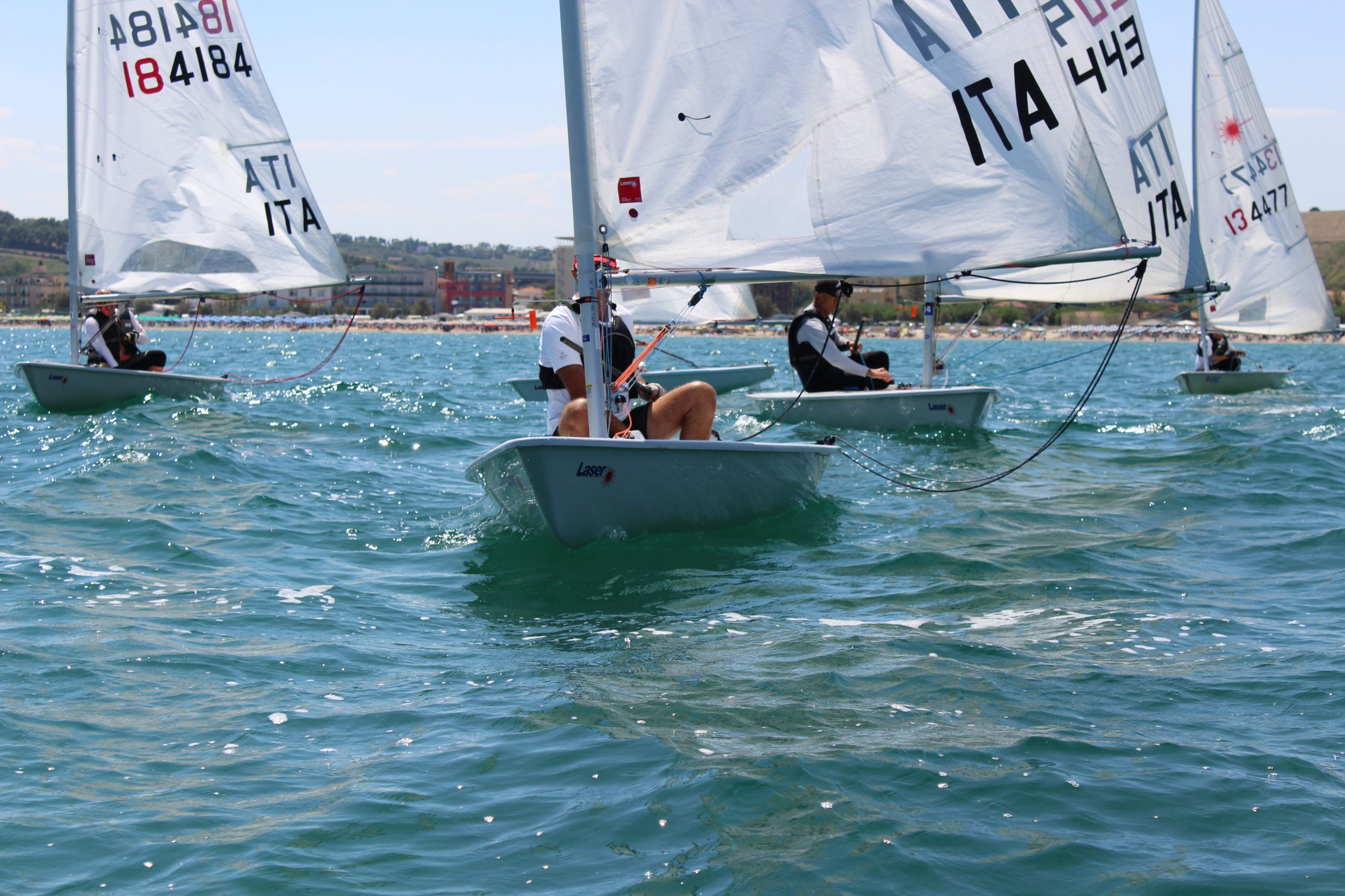 Windsurfer al Campionato Sociale AVS