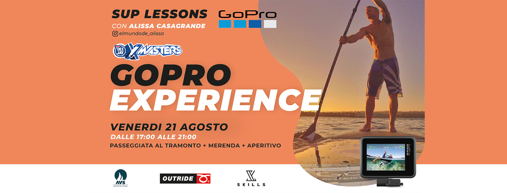 gopro sup experience