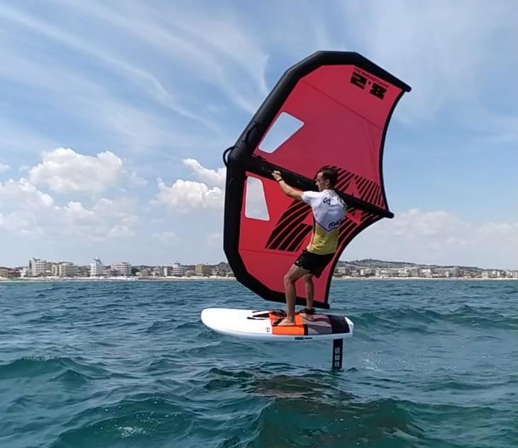 Corso di wing surf